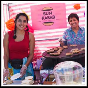 Bun Kabab framed
